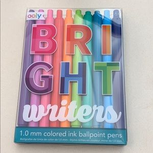10 pack colored ink pens